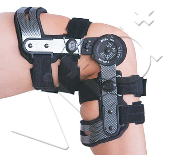 """Νάρθηκας γόνατος 4 σημείων """"Carboext ROM"""" 1"""