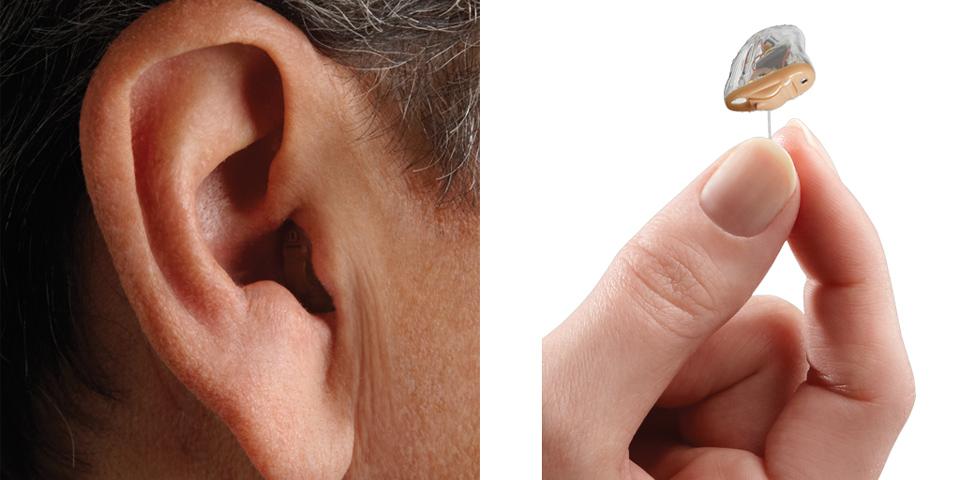 Πλήρως ενδοκαναλικά ακουστικά (CIC) 1
