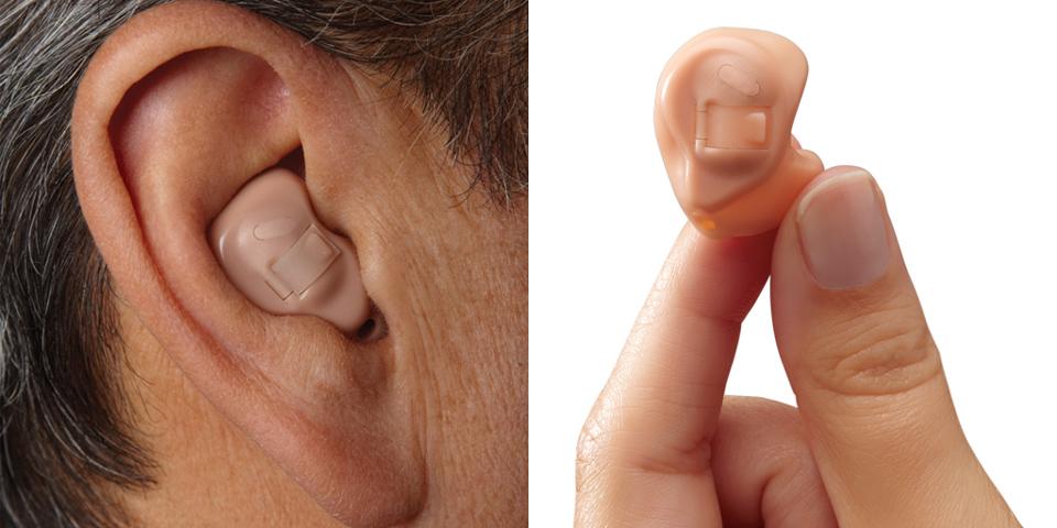 Ενδοωτιαία ακουστικά  (ITE) 1