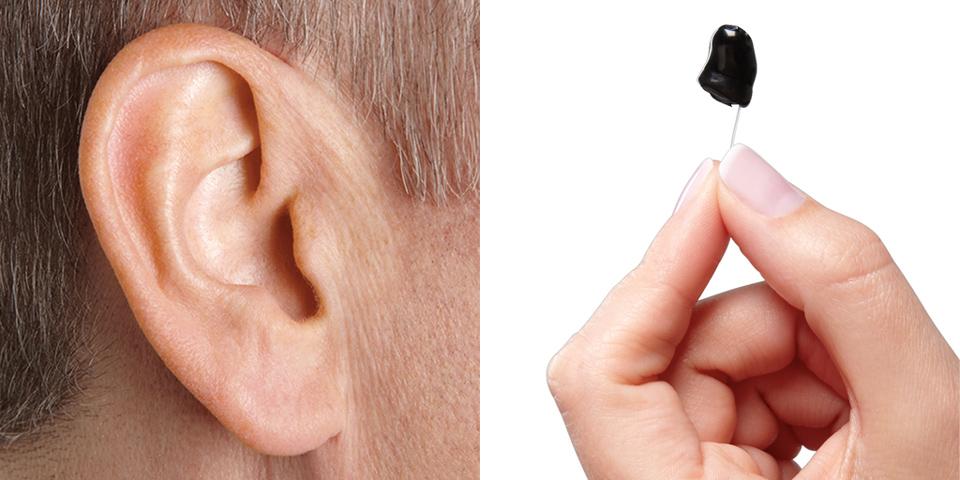 Πλήρως ενδοκαναλικά ακουστικά μίνι (micro CIC) 1