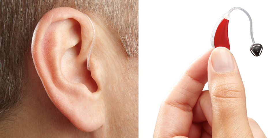 Οπισθοωτιαία ακουστικά CRT (Canal Receiver Technology) 1