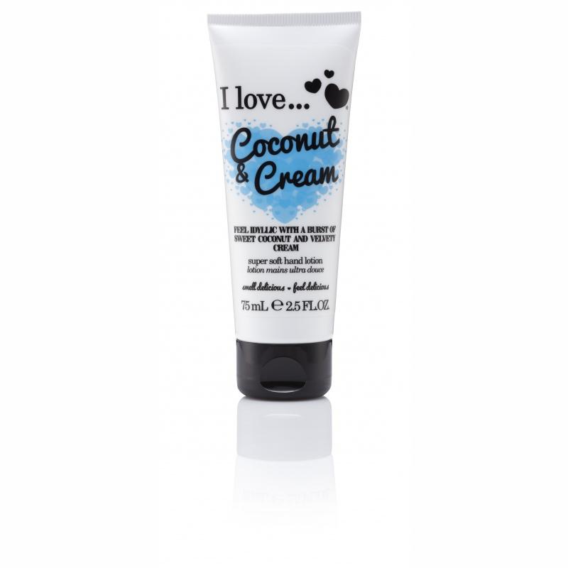 I Love Cosmetics Ενυδατικό Γαλάκτωμα Χεριών Με Άρωμα Καρύδα Και Κρέμα 75ml 1