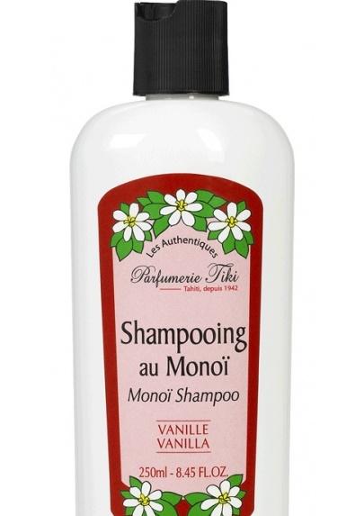 Monoi Tiki Tahiti Shampoo Vanille Vanilla 250ml 1